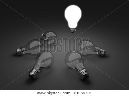 Light Bulbs Unique