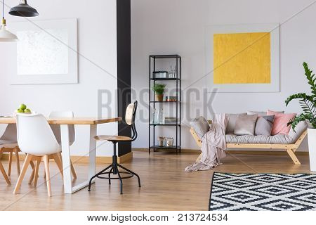 Spacious Interior Of Day Room