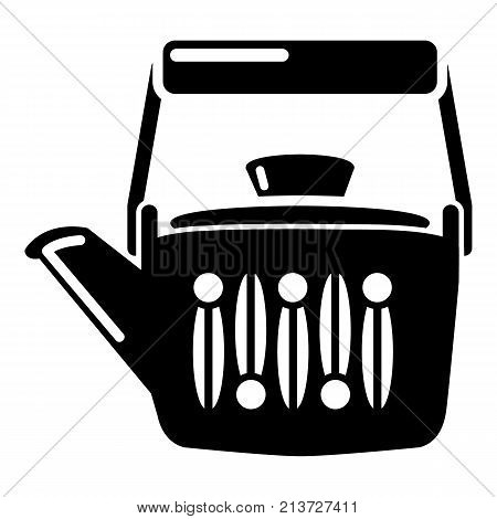 Teatime icon. Simple illustration of teatime vector icon for web