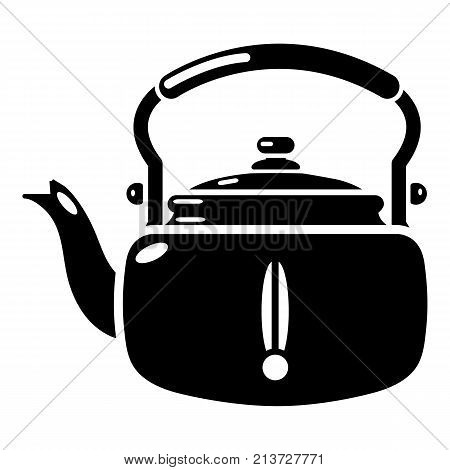 Kettle break icon. Simple illustration of kettle break vector icon for web