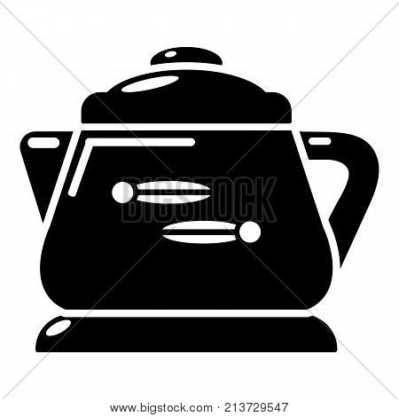 Kettle modern icon. Simple illustration of kettle modern vector icon for web