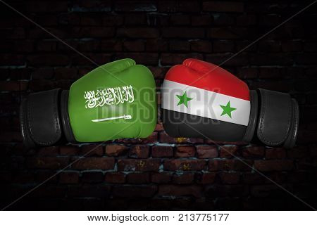 A Boxing Match Between The Two Countries
