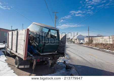 Used Auto Recycling And Dismantling Facility.
