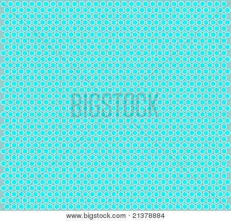 Texture with hexagon cells