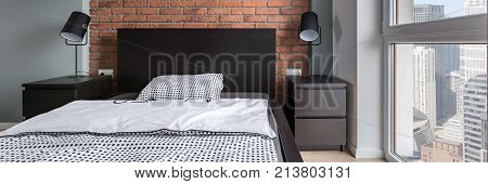Simple Bedroom With Double Bed