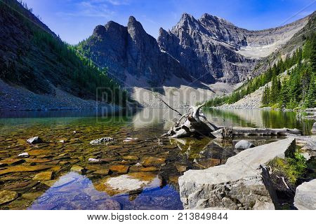 Lake Agnes in the Banff National Park