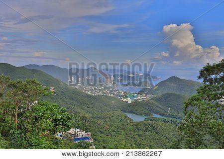 The Peak View Of Wong Chuk Hang