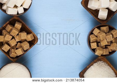 Six Bowls Of Sugar, Top View