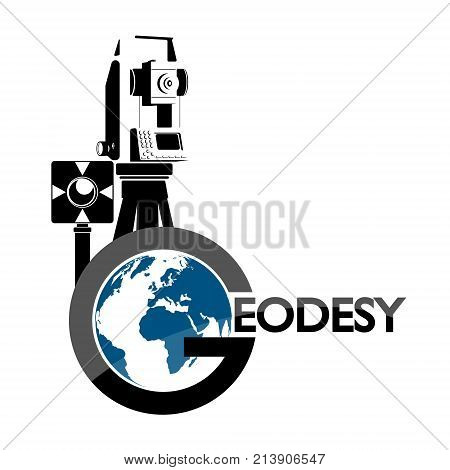 Geodesic device and globe symbol vector for business