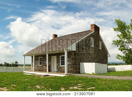 Historic Stone House In Countryside