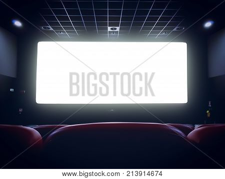 comfortable; auditorium; background; black; chair; cinema; concept; copyspace; edge; empty; entertainment; event; film; glow; hall; interior; light; movie; performance; picture; projection; recreation; red; row; screen; seat; seats; stage; theater; theatr