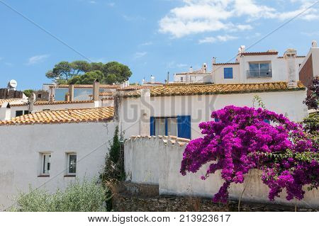 View Of Village Of Cadaques, Catalonia, Spain