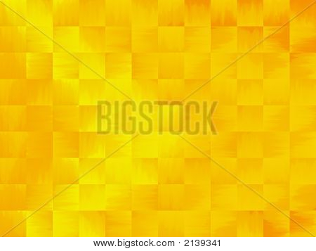 Yellow And Orange Abstract Tile Background