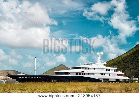 Yacht Boat Or Ship In Philipsburg, St Maarten