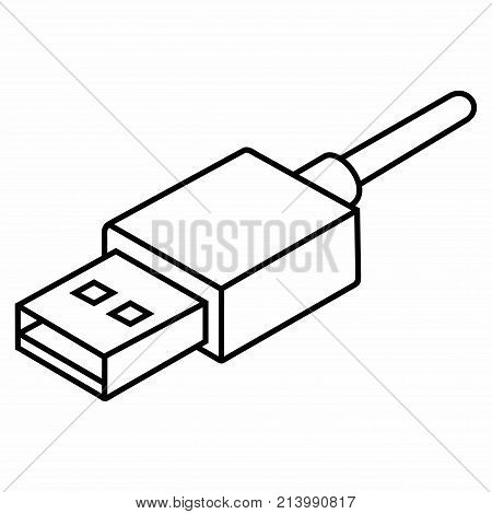 Usb Cable Drawing