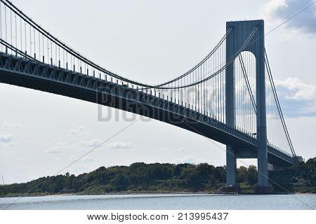 Verrazano Bridge in New York City, USA