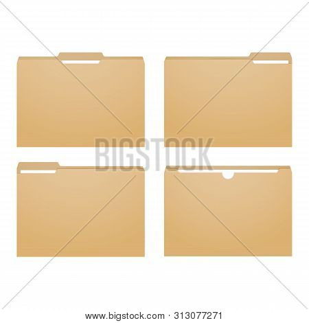 Manila File. Paper Folder Case. Paperwork Binder.