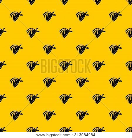 Cowboy Neckerchief Pattern Seamless Repeat Geometric Yellow For Any Design
