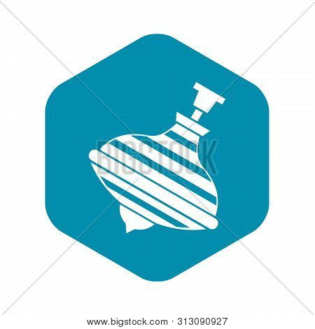 Carousel Humming Top Icon. Simple Illustration Of Carousel Humming Top Icon For Web