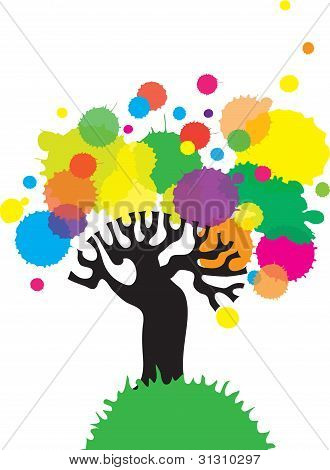 Colorful tree.