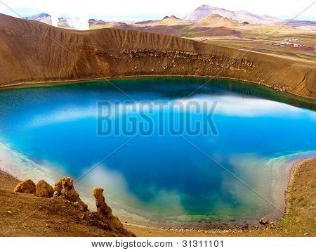Blue Crystal Lake