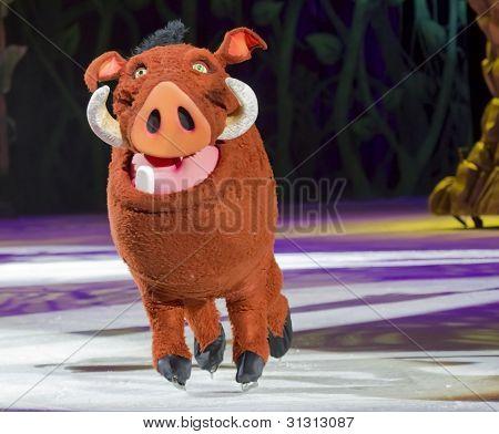 Pumbaa On Skates