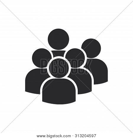 Users Group Icon Isolated On White Background. Users Group Icon In Trendy Design Style For Web Site