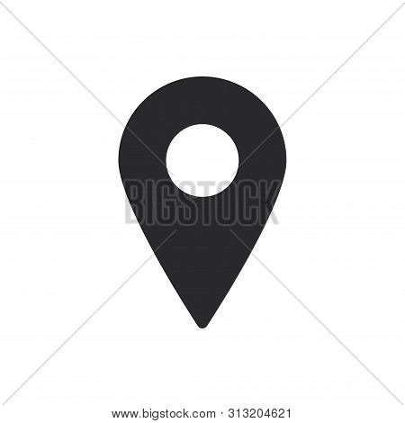 Placeholder Icon Isolated On White Background. Placeholder  Icon In Trendy Design Style For Web Site