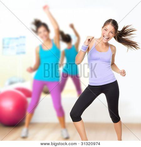 Fitness Dance Studio Class