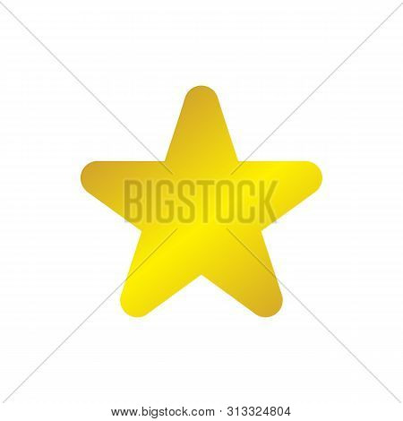 Star Shield Gold Icon, Star Shield Gold Icon Eps10, Star Shield Gold Icon Vector, Star Icon Shield G