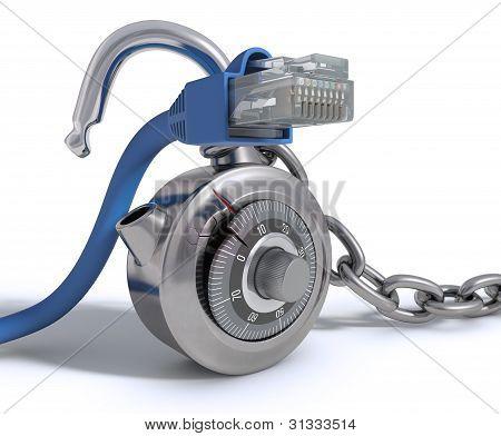 RJ45 Cable sin protección
