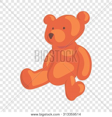 Teddy Bear Icon. Cartoon Illustration Of Teddy Bear Vector Icon For Web