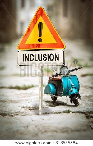 Street Sign To Inclusion