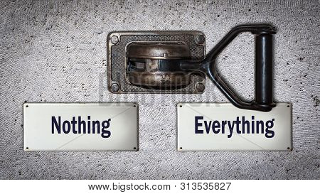Wall Switch Everything Versus Nothing