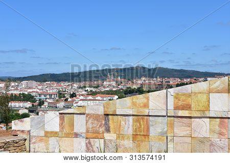 Santiago, Spain. July 21, 2019. Cidade Da Cultura De Galicia Designed By Peter Eisenman.
