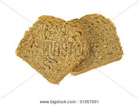 Whole Grain Bread Two Slices