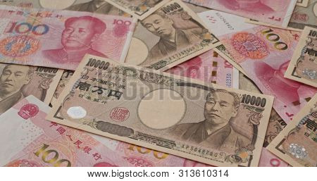 Japanese Yen and Chinese RMB