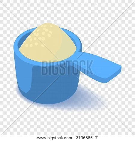 Scoop Icon. Isometric Illustration Of Scoop Vector Icon For Web