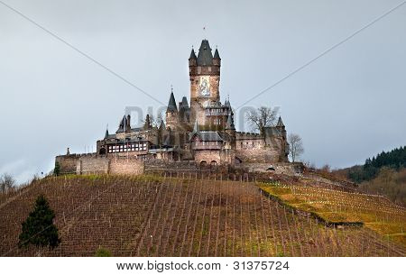 Castle In Cochem, Germany
