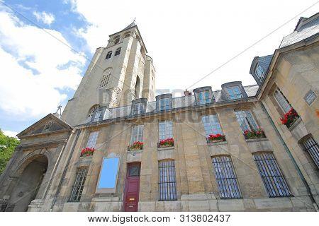 Saint Germain Des Pres Church Paris France
