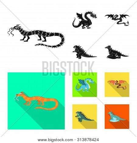 Isolated Object Of Legend And Halloween Symbol. Collection Of Legend And History Vector Icon For Sto