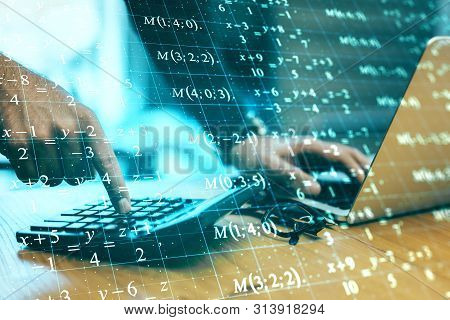 Computing And Fintech Concept