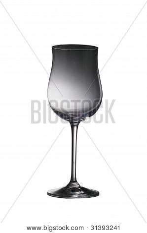 Isolated Wine Glass.