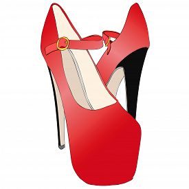 Sensual And Seductive Women's Shoes With High Heels