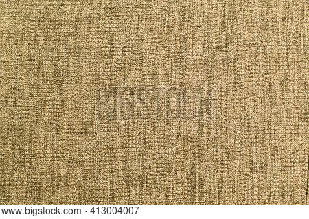 Yellow Cloth. Uneven Weave. Can Be Used As Background