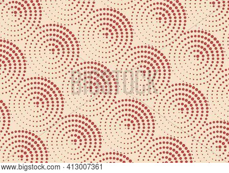 African Print Fabric, Ethnic Handmade Ornament For Your Design, Ethnic And Tribal Motifs Dotted Geom