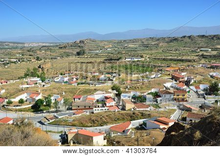 Spring View Of Guadix