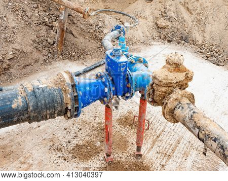 Maintenance Of The Drinking Water Supply System For The Suburbs. Replacement Of A Non-functional Val