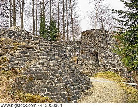 Wolhusen Castle Ruins Or Outer Castle (wolhusen Burgruine Oder Ruine Äussere Burg Wolhusen) - Switze