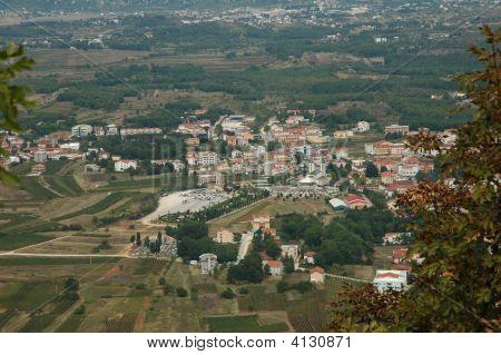 Medugorie. View From Mt. Krizevac